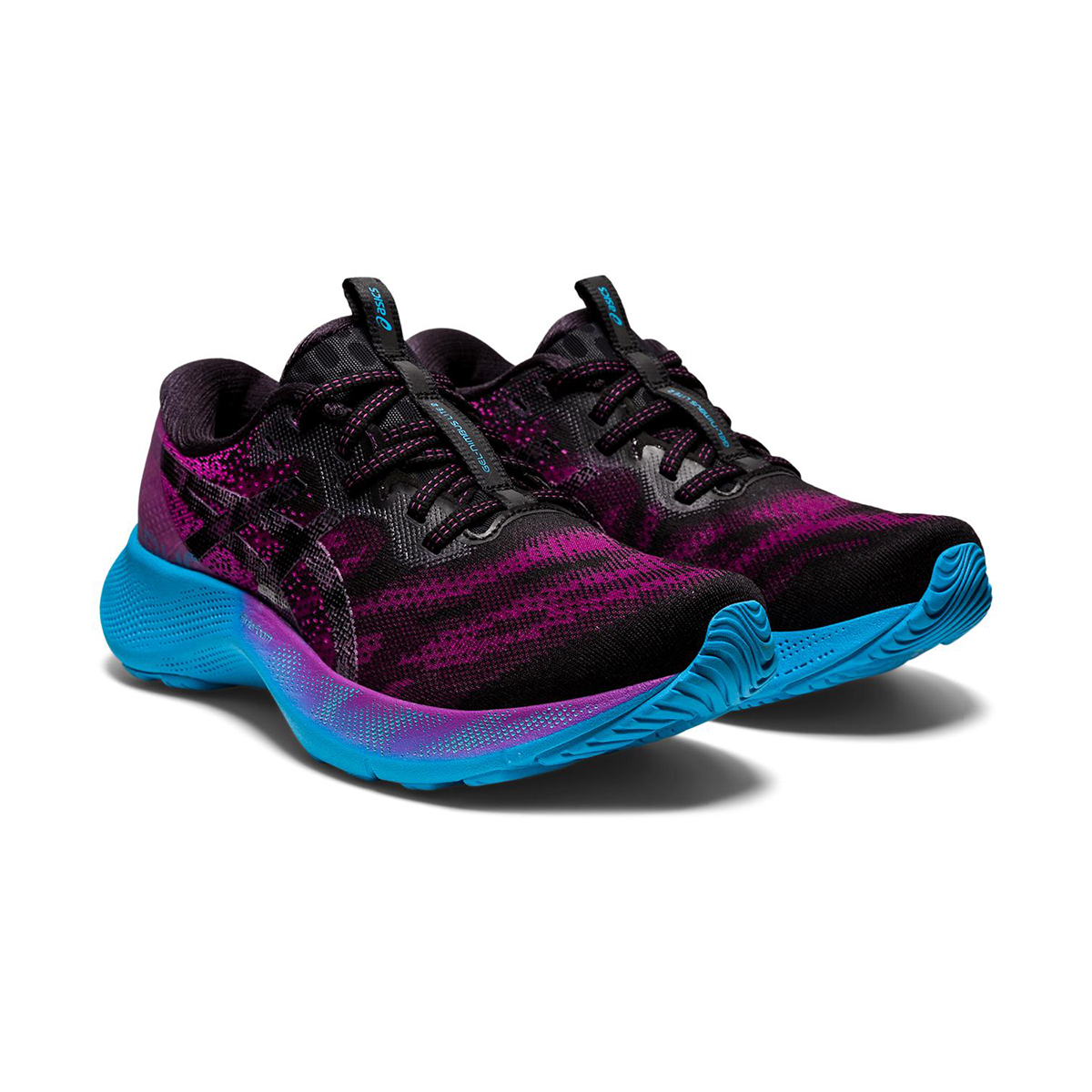 Women's Asics Gel-Nimbus Lite 2 Running Shoe - Color: Digital Grape/Black - Size: 5 - Width: Regular, Digital Grape/Black, large, image 3