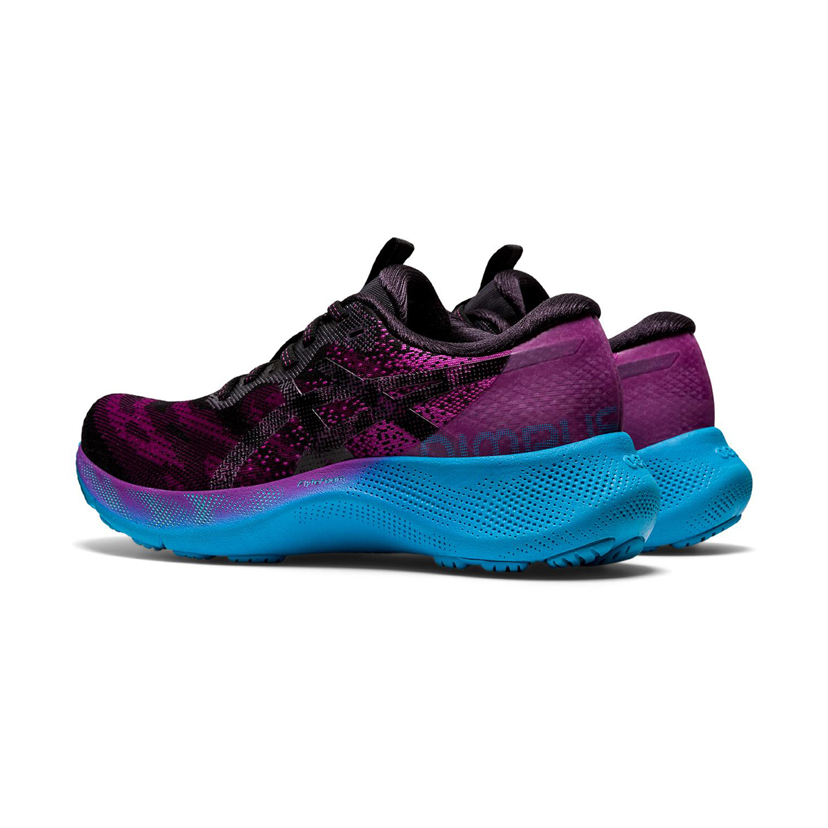 Women's Asics Gel-Nimbus Lite 2 Running Shoe - Color: Digital Grape/Black - Size: 5 - Width: Regular, Digital Grape/Black, large, image 4