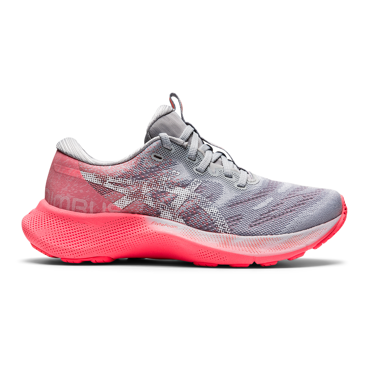 Women's Asics Gel-Nimbus Lite 2 Running Shoe - Color: Blazing Coral  - Size: 5 - Width: Regular, Blazing Coral, large, image 1
