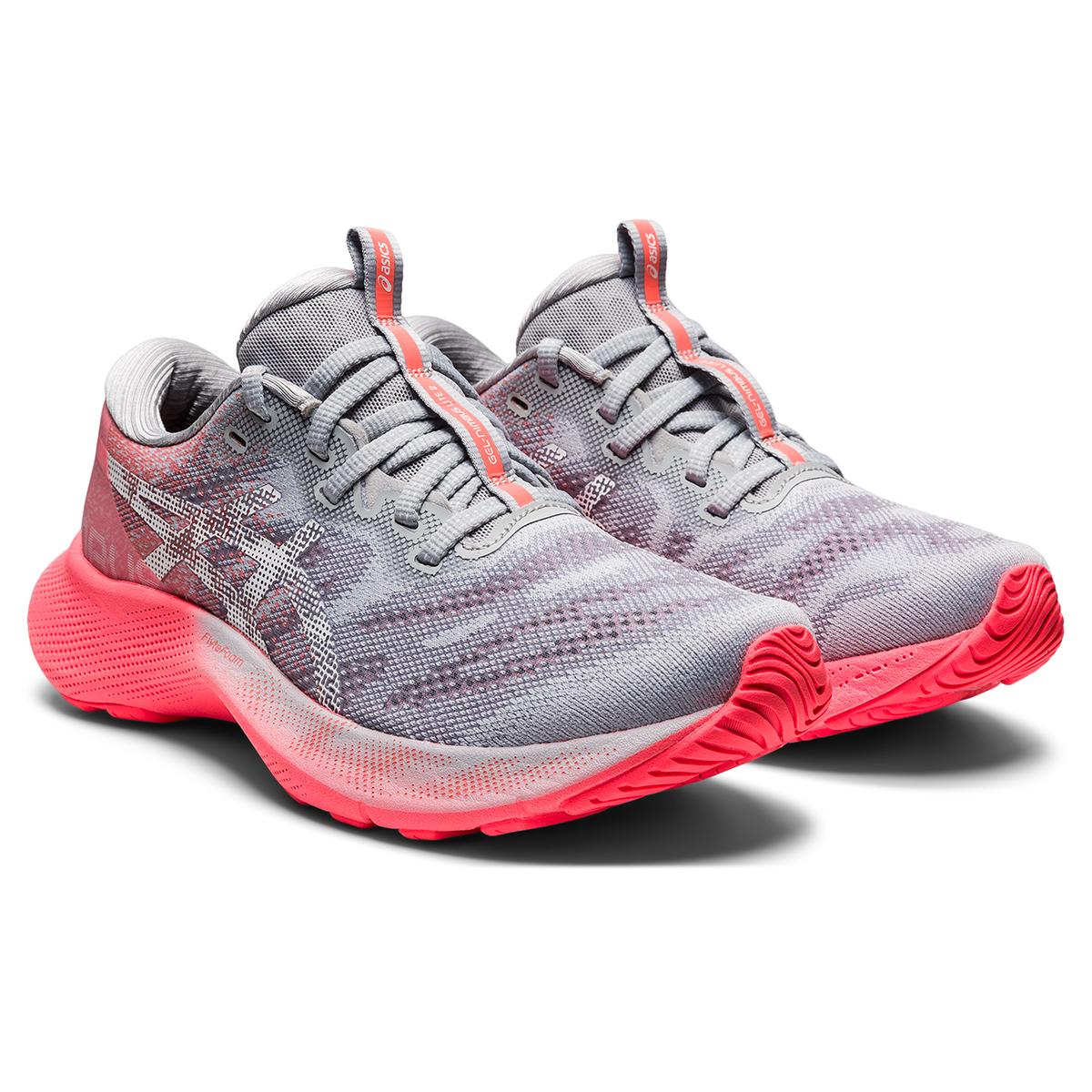 Women's Asics Gel-Nimbus Lite 2 Running Shoe - Color: Blazing Coral  - Size: 5 - Width: Regular, Blazing Coral, large, image 3