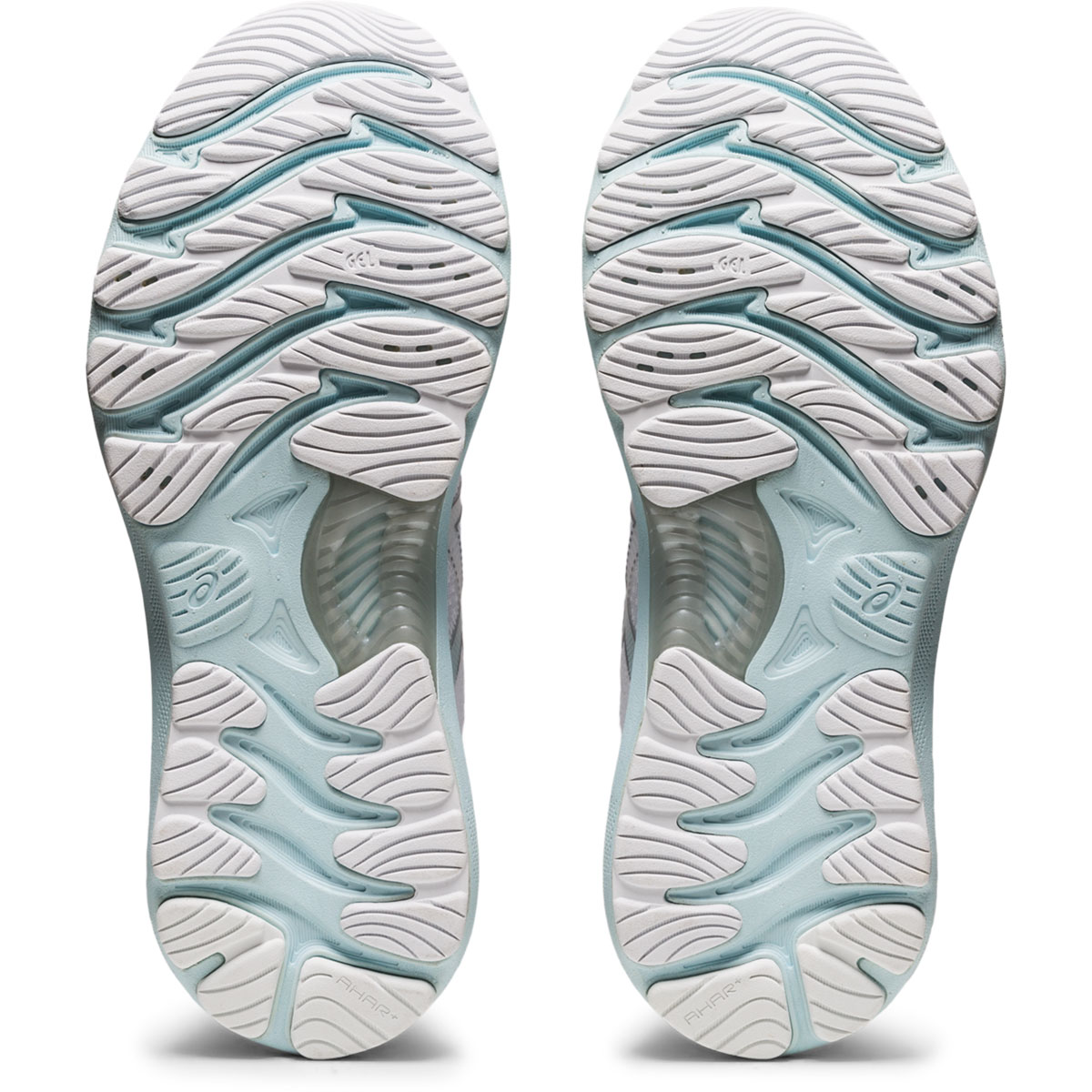 Women's Asics Gel-Nimbus 23 Running Shoe - Color: White/Pure Silver - Size: 5 - Width: Regular, White/Pure Silver, large, image 3