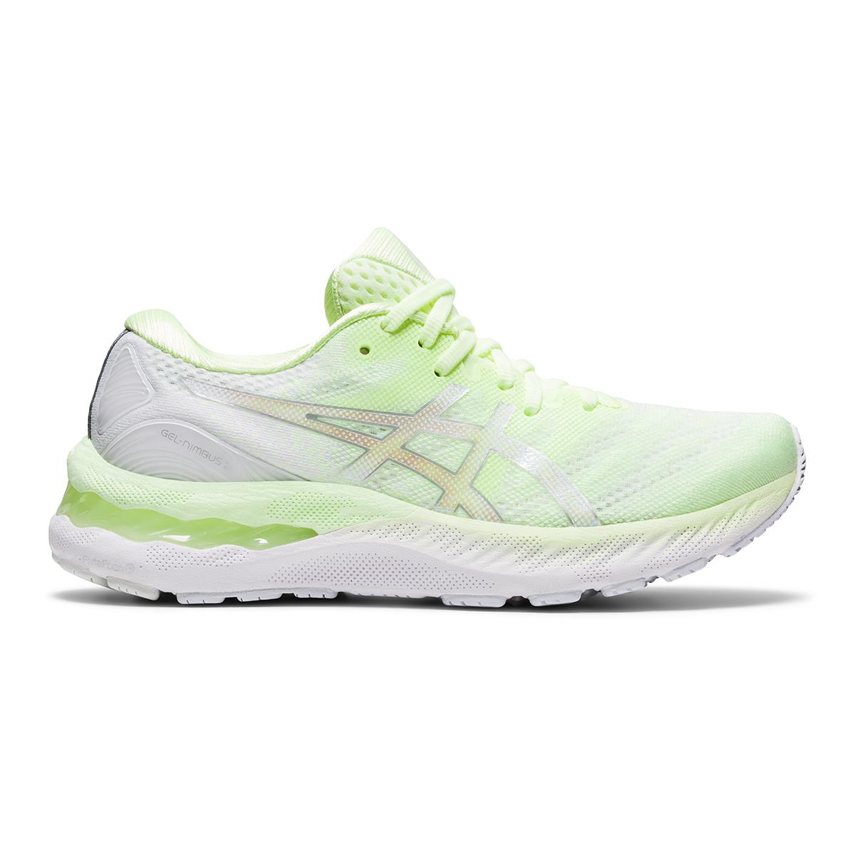 Women's Asics Gel-Nimbus 23 Running Shoe - Color: Illuminate Yellow - Size: 5 - Width: Regular, Illuminate Yellow, large, image 1