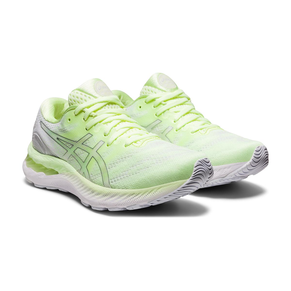 Women's Asics Gel-Nimbus 23 Running Shoe - Color: Illuminate Yellow - Size: 5 - Width: Regular, Illuminate Yellow, large, image 3