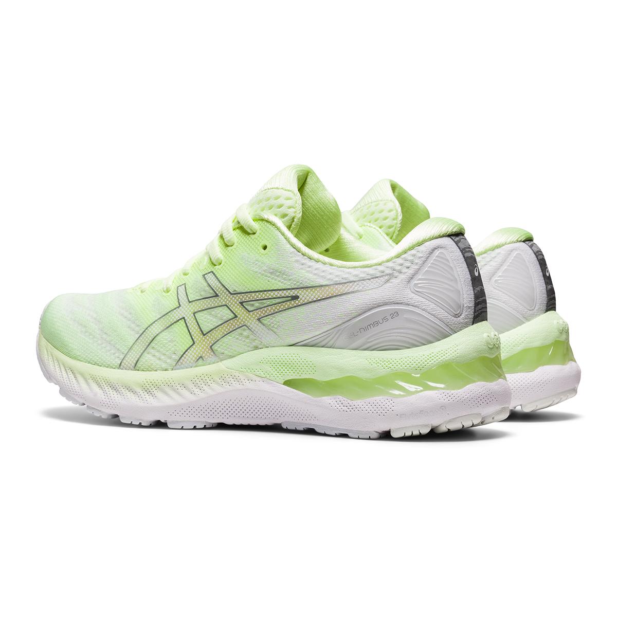 Women's Asics Gel-Nimbus 23 Running Shoe - Color: Illuminate Yellow - Size: 5 - Width: Regular, Illuminate Yellow, large, image 4