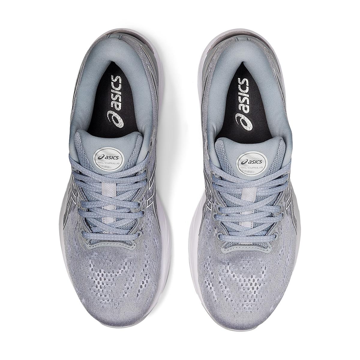 Women's Asics Gel-Cumulus 23 Running Shoe - Color: Piedmont Grey/White - Size: 5 - Width: Regular, Piedmont Grey/White, large, image 3