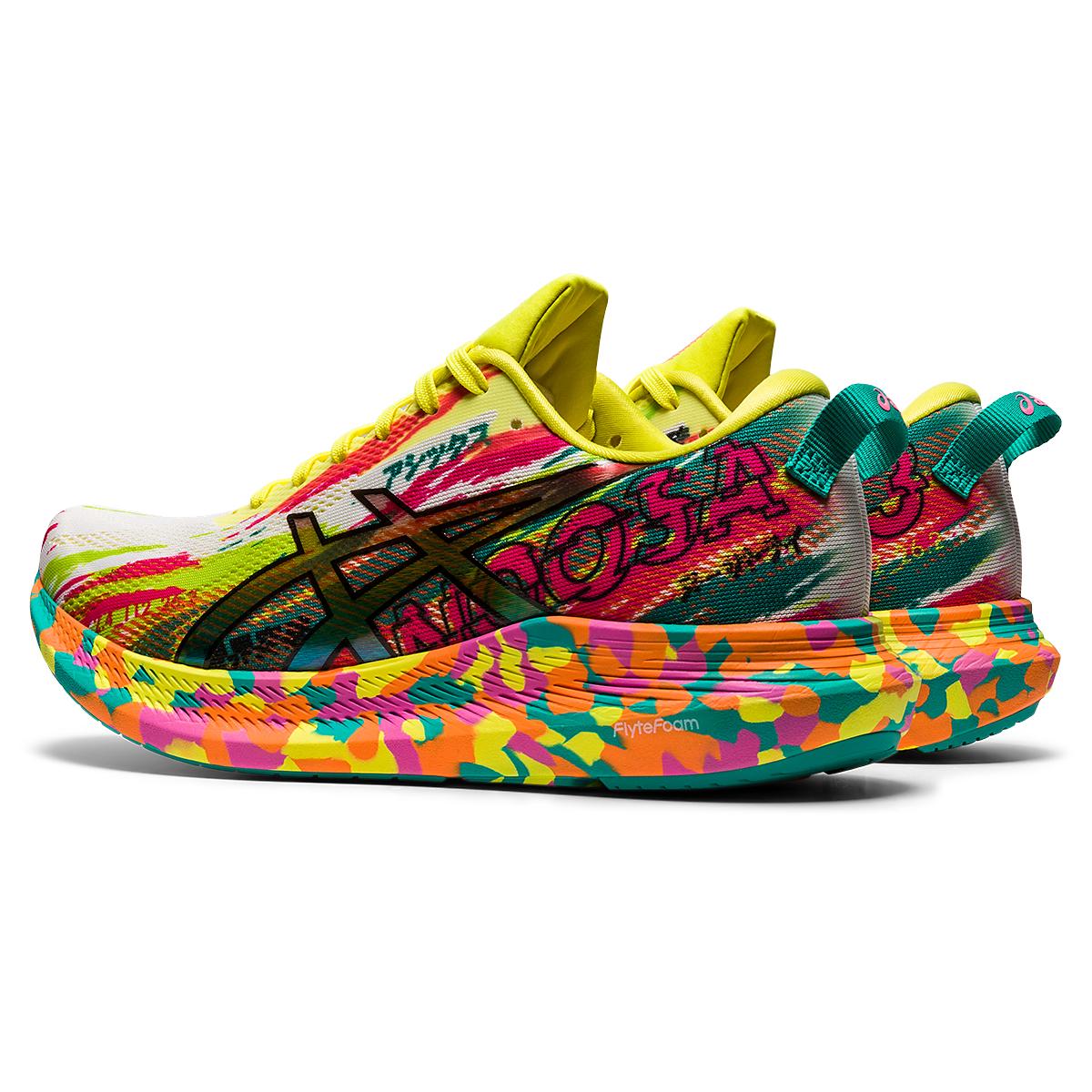 Women's Asics Noosa Tri 13 Running Shoe - Color: Hot Pink/Sour Yuzu - Size: 5 - Width: Regular, Hot Pink/Sour Yuzu, large, image 5