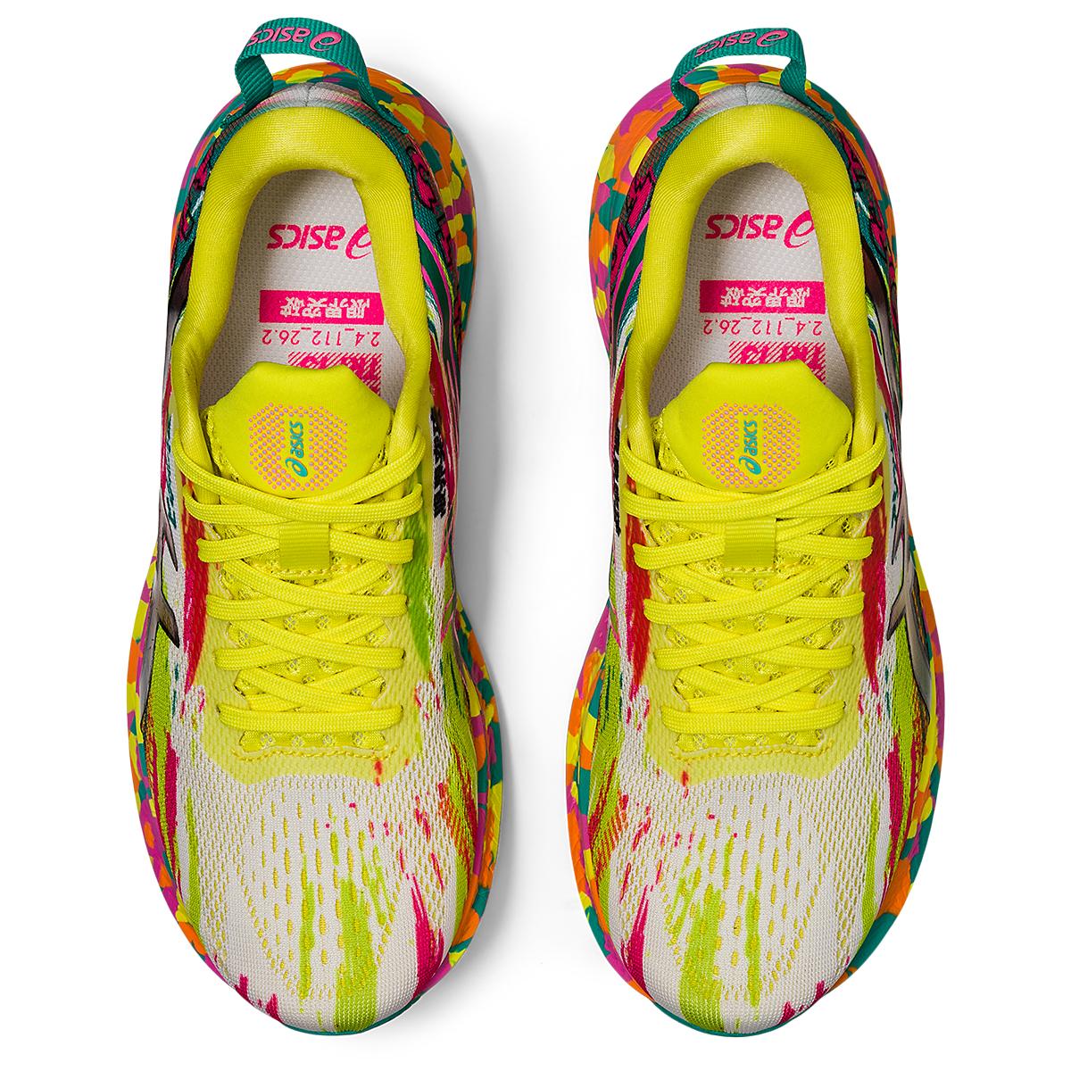Women's Asics Noosa Tri 13 Running Shoe - Color: Hot Pink/Sour Yuzu - Size: 5 - Width: Regular, Hot Pink/Sour Yuzu, large, image 7