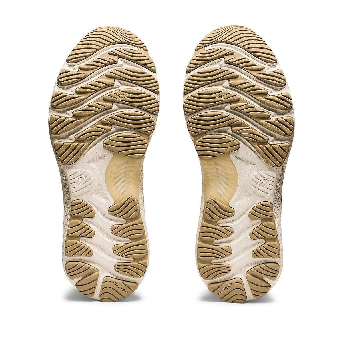 Women's Asics Gel-Nimbus 23 Earth Day Running Shoe - Color: Cream/Putty - Size: 5 - Width: Regular, Cream/Putty, large, image 4