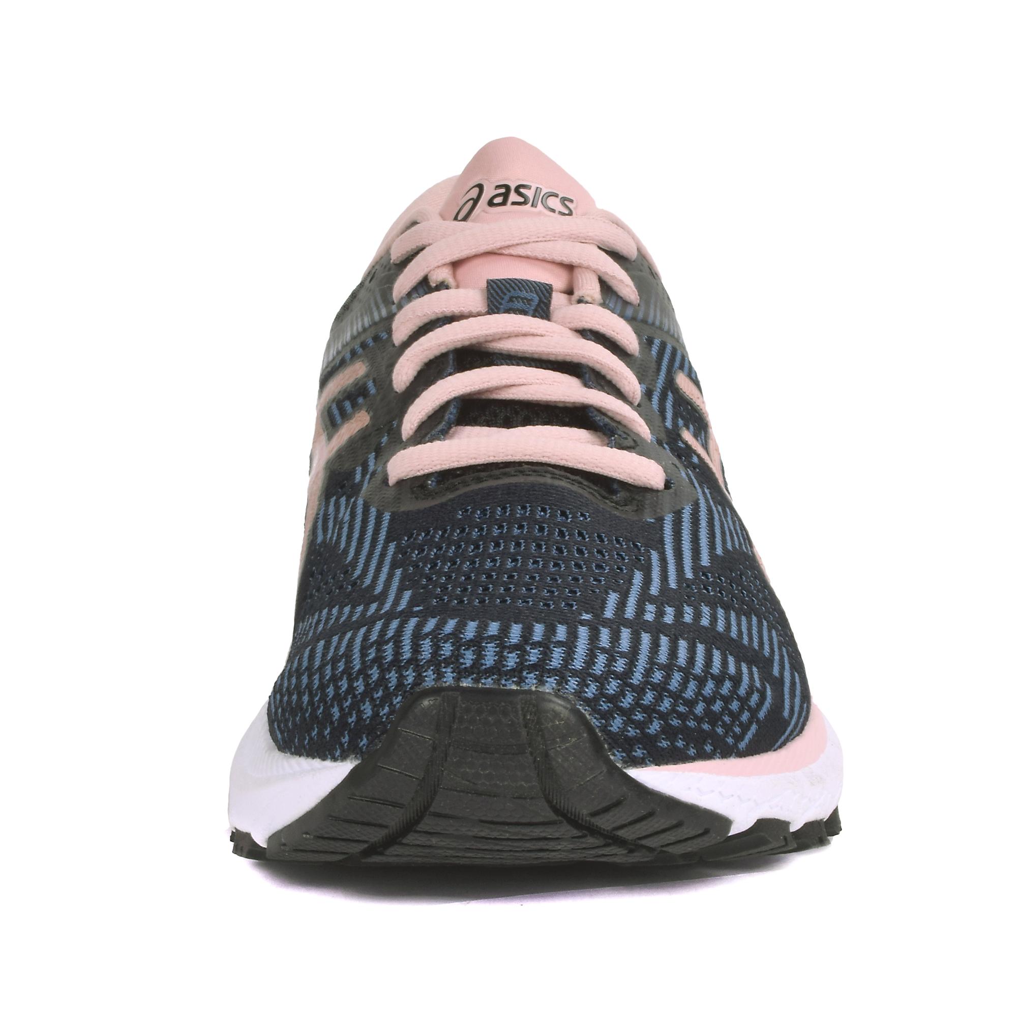 Women's Asics Gt-2000 8 Running Shoe - Color: Black/Blue/Rose Gold (Regular Width) - Size: 5, Black/Blue/Rose Gold, large, image 4