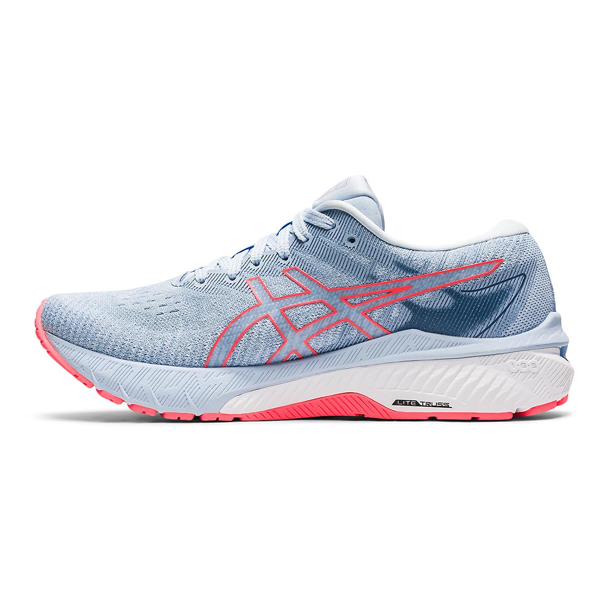 Women's Asics GT-2000 10 Running Shoe - Color: Mist/Blazing Coral - Size: 5 - Width: Regular, Mist/Blazing Coral, large, image 2