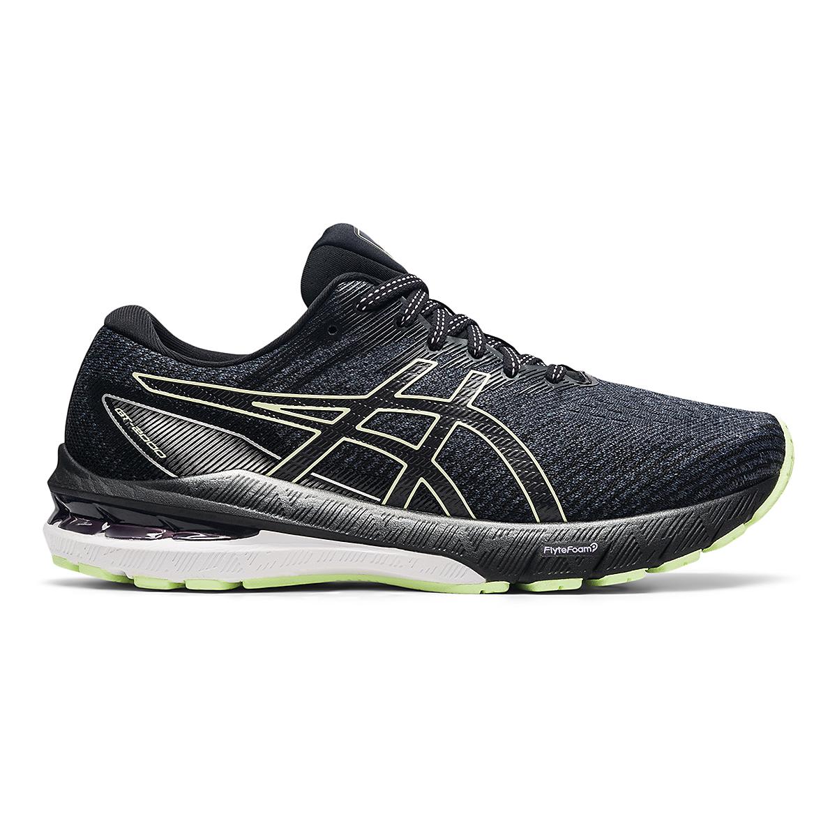 Women's Asics GT-2000 10 Running Shoe - Color: Soft Lavender/Black - Size: 5 - Width: Wide, Soft Lavender/Black, large, image 1