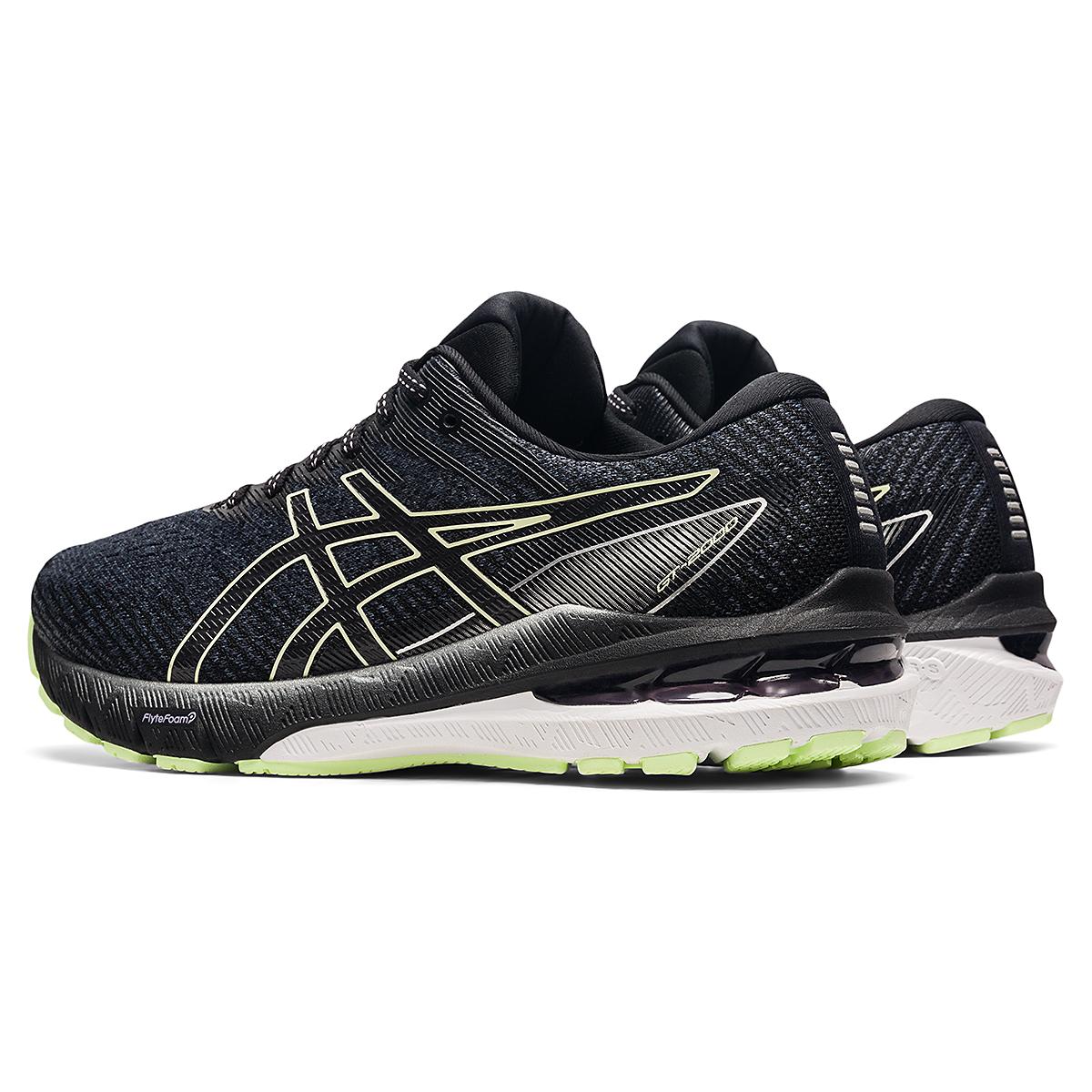 Women's Asics GT-2000 10 Running Shoe - Color: Soft Lavender/Black - Size: 5 - Width: Wide, Soft Lavender/Black, large, image 4