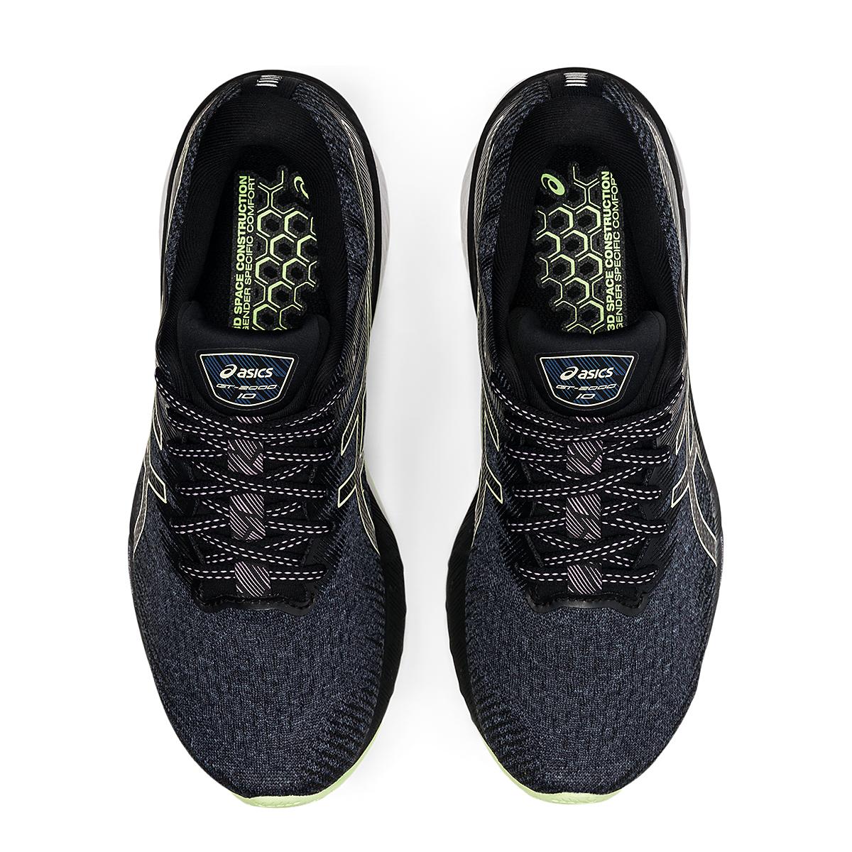 Women's Asics GT-2000 10 Running Shoe - Color: Soft Lavender/Black - Size: 5 - Width: Wide, Soft Lavender/Black, large, image 6