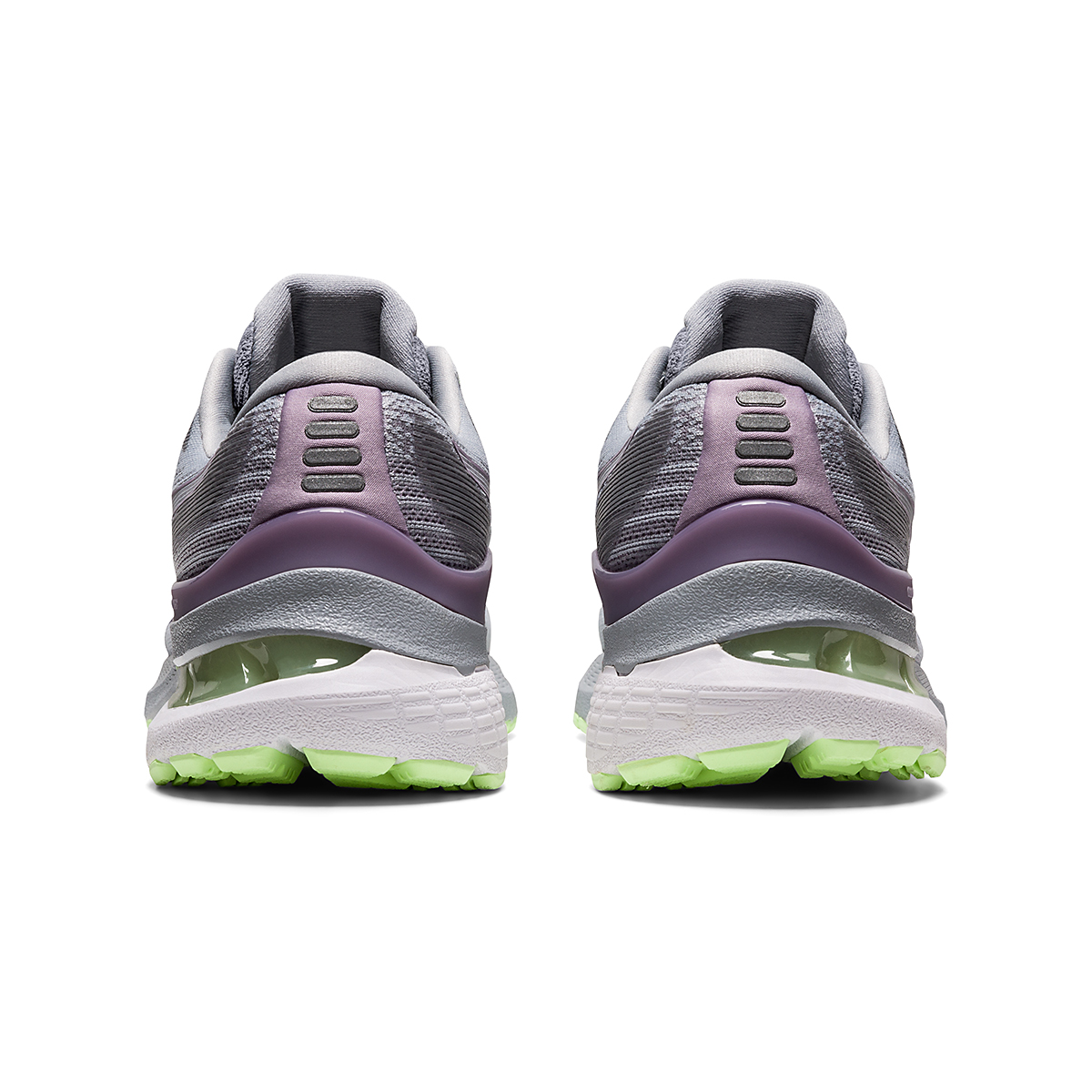 Women's Asics Gel-Kayano 28 Running Shoe - Color: Piedmont Grey/Lavender - Size: 5 - Width: Regular, Piedmont Grey/Lavender, large, image 6