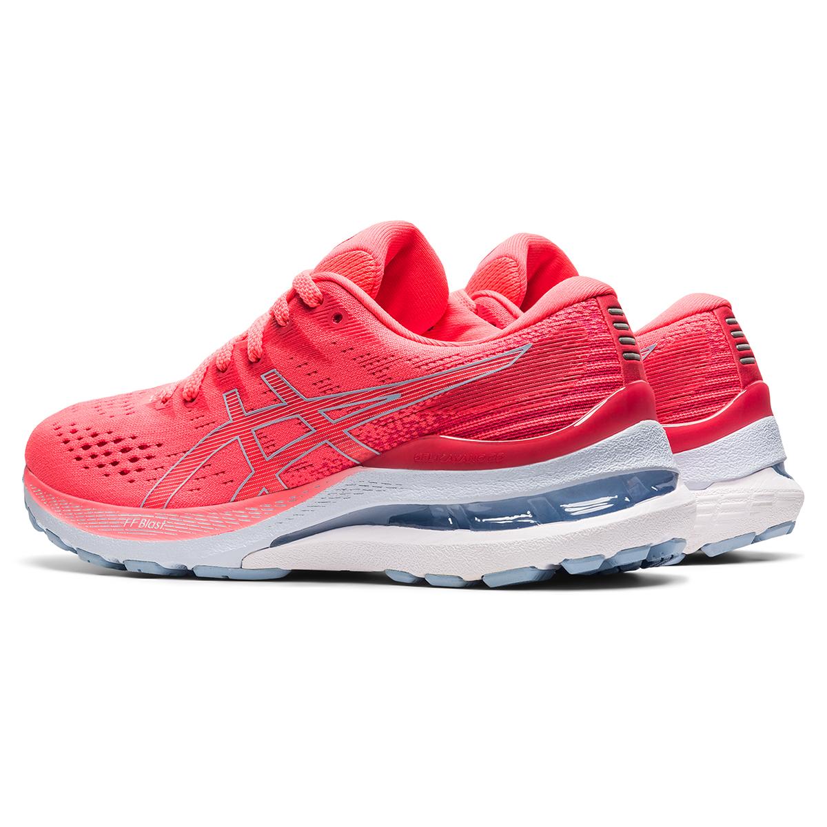 Women's Asics Gel-Kayano 28 Running Shoe - Color: Blazing Coral - Size: 5 - Width: Regular, Blazing Coral, large, image 6