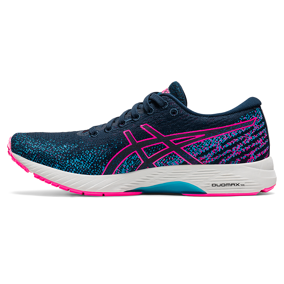 Women's Asics Gel-DS Trainer 26 Running Shoe - Color: French Blue/Hot Pink - Size: 5 - Width: Regular, French Blue/Hot Pink, large, image 2