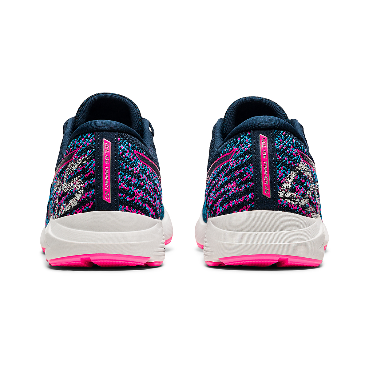 Women's Asics Gel-DS Trainer 26 Running Shoe - Color: French Blue/Hot Pink - Size: 5 - Width: Regular, French Blue/Hot Pink, large, image 5