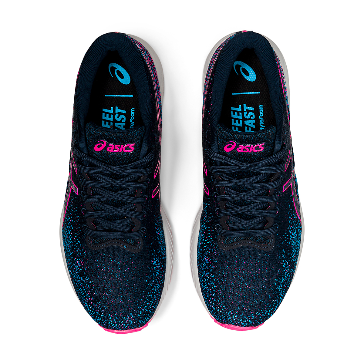 Women's Asics Gel-DS Trainer 26 Running Shoe - Color: French Blue/Hot Pink - Size: 5 - Width: Regular, French Blue/Hot Pink, large, image 6