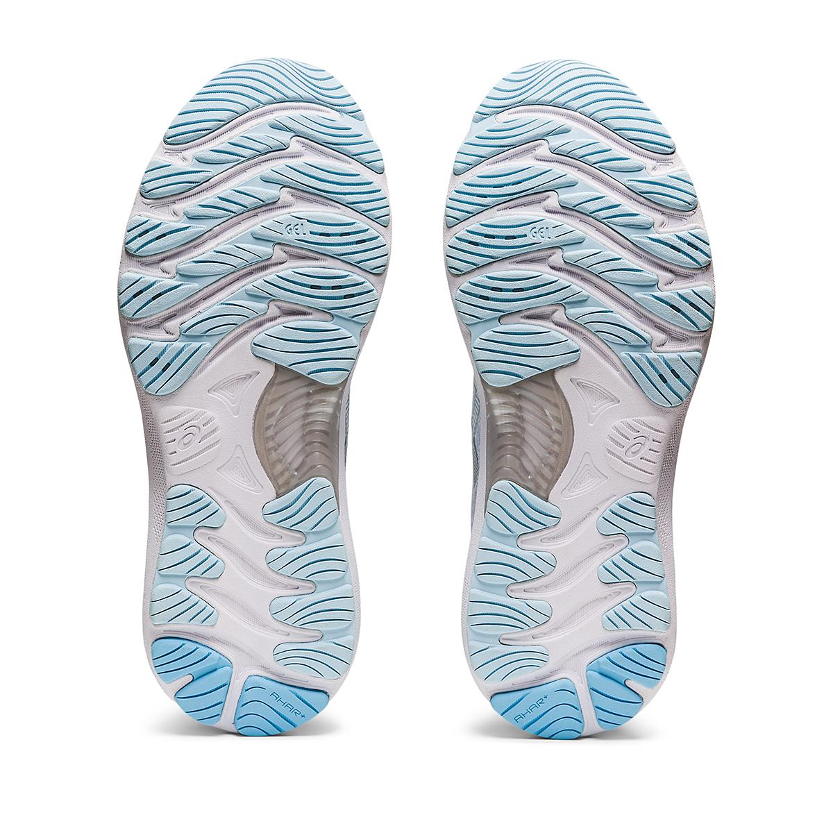 Women's Asics Gel-Nimbus 23 Running Shoe - Color: Aqua Angel/Pure - Size: 5 - Width: Regular, Aqua Angel/Pure, large, image 6