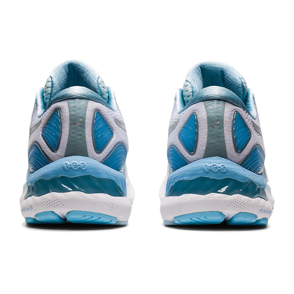 Women's Asics Gel-Nimbus 23 Running Shoe - Color: Aqua Angel/Pure - Size: 5 - Width: Regular, Aqua Angel/Pure, large, image 7