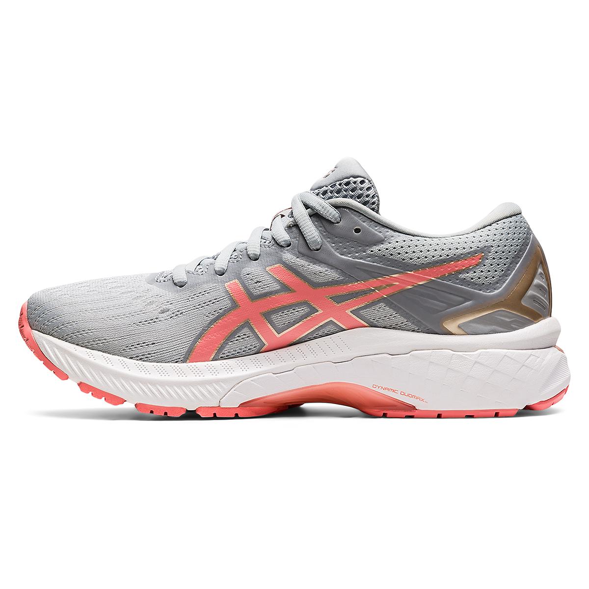 Women's Asics Gt-2000 9 Running Shoe - Color: Piedmont Grey - Size: 5 - Width: Regular, Piedmont Grey, large, image 2
