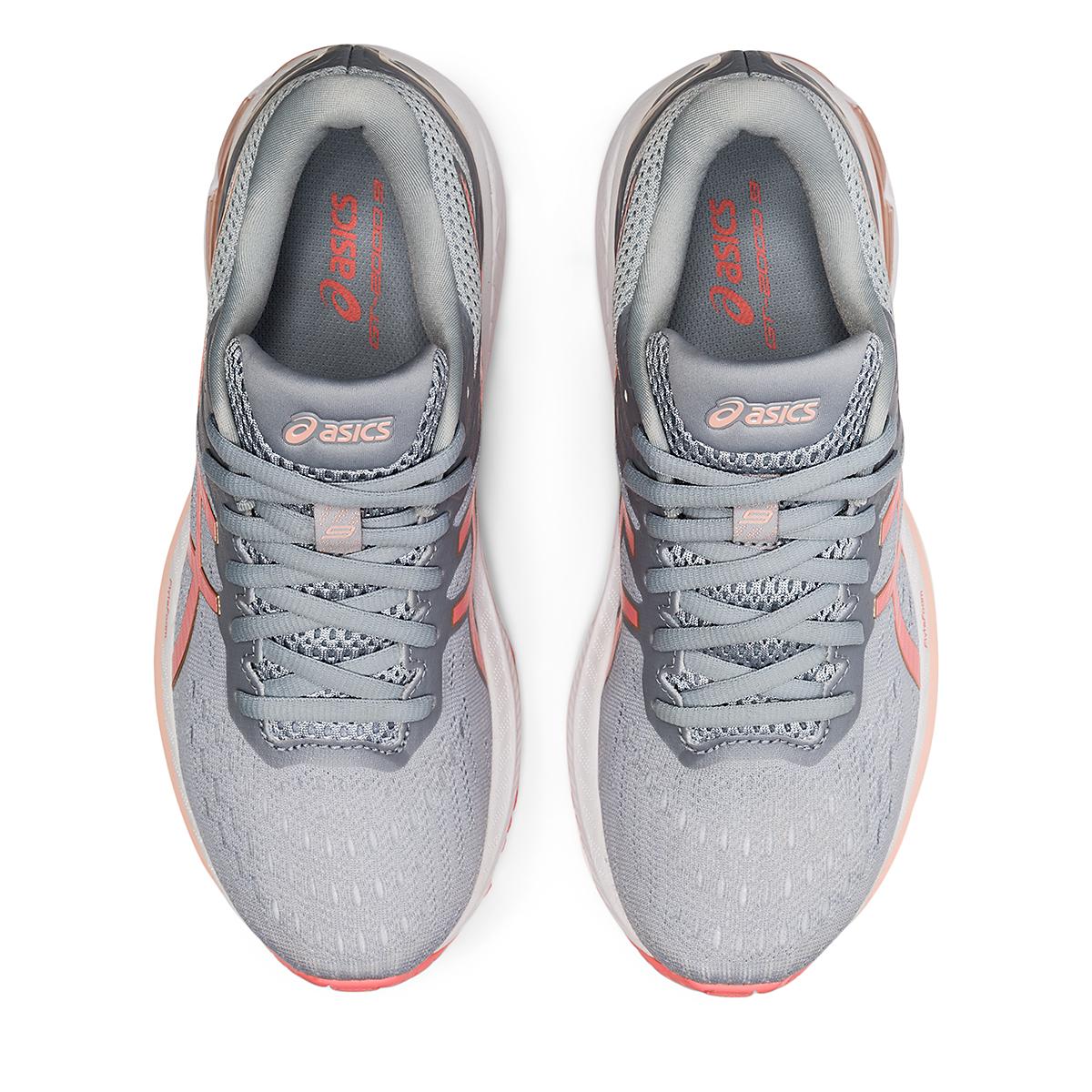 Women's Asics GT-2000 9 Running Shoe - Color: Piedmont Grey/Guava - Size: 5 - Width: Regular, Piedmont Grey/Guava, large, image 5