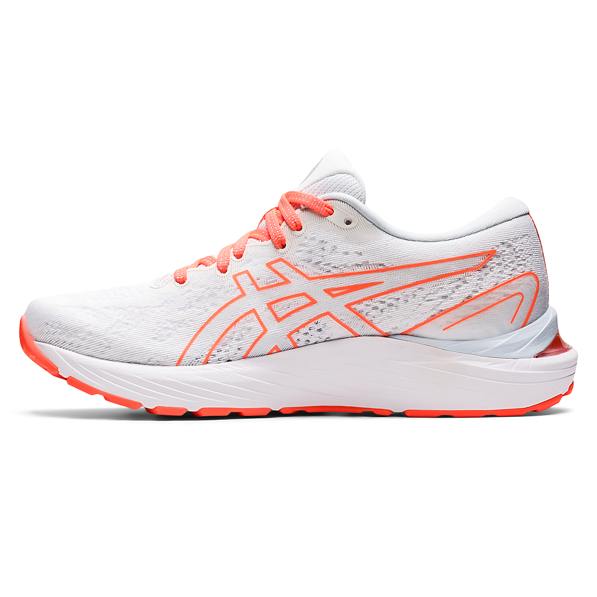 Women's Asics Gel-Cumulus 23 Running Shoe - Color: White/Sky - JackRabbit Exclusive - Size: 5 - Width: Regular, White/Sky - JackRabbit Exclusive, large, image 2
