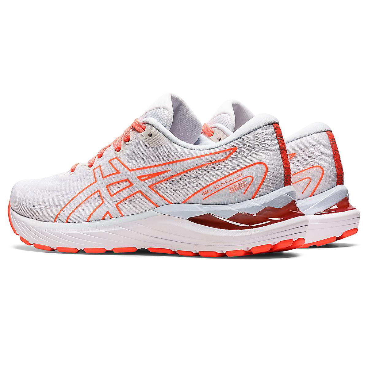Women's Asics Gel-Cumulus 23 Running Shoe - Color: White/Sky - JackRabbit Exclusive - Size: 5 - Width: Regular, White/Sky - JackRabbit Exclusive, large, image 4