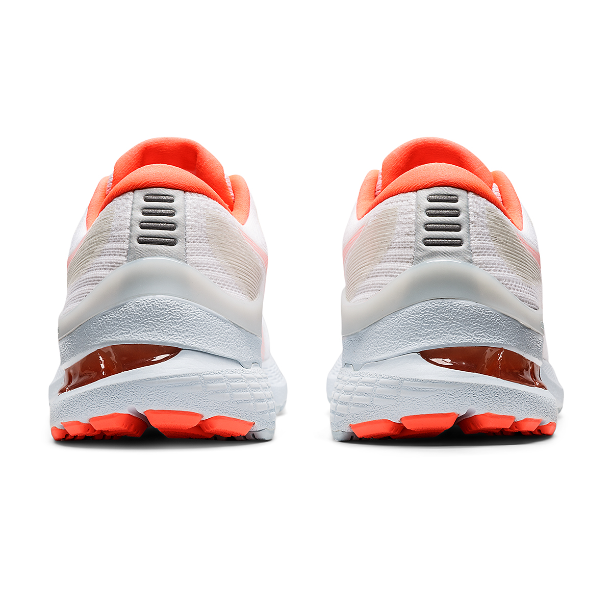 Women's Asics Gel-Kayano 28 Running Shoe - Color: White/Flash Coral - JackRabbit Exclusive - Size: 5 - Width: Regular, White/Flash Coral - JackRabbit Exclusive, large, image 5
