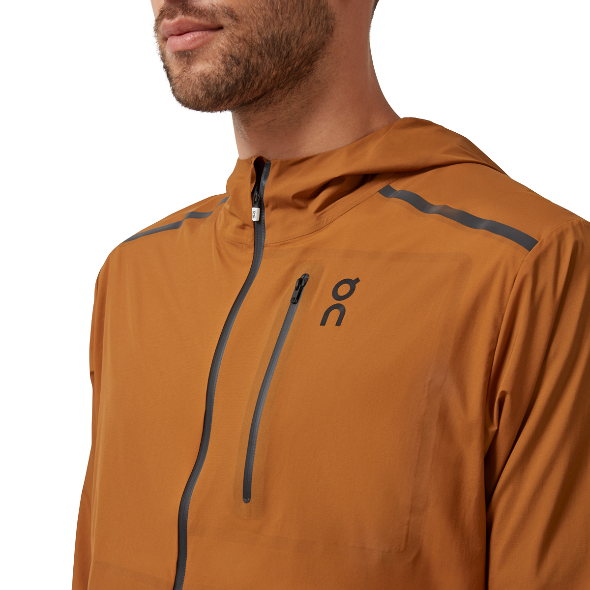 Men's On Weather Jacket - Color: Pecan - Size: S, Pecan, large, image 2