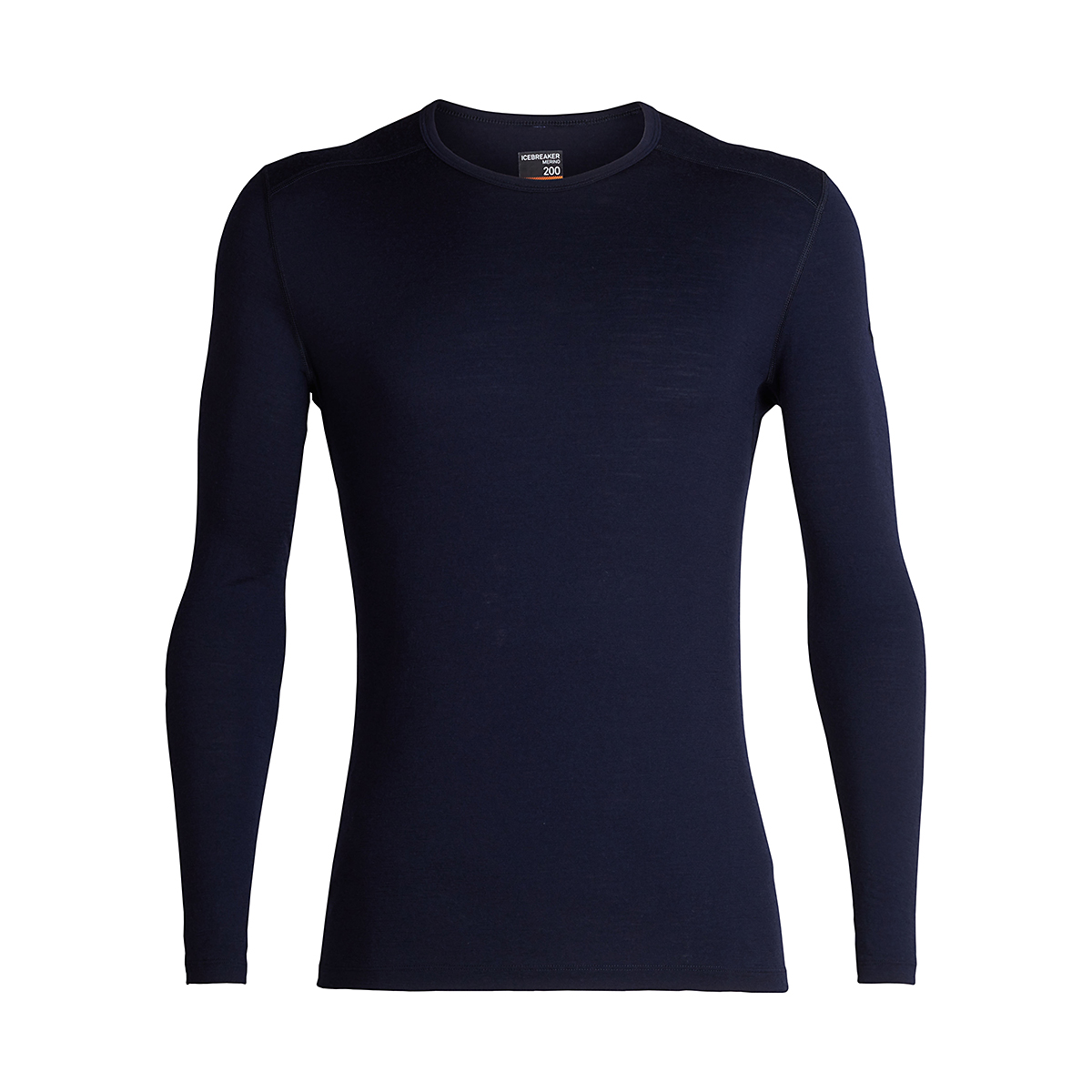 Men's Icebreaker 200 Oasis Long Sleeve Crewe - Color: Midnight Navy - Size: S, Midnight Navy, large, image 1