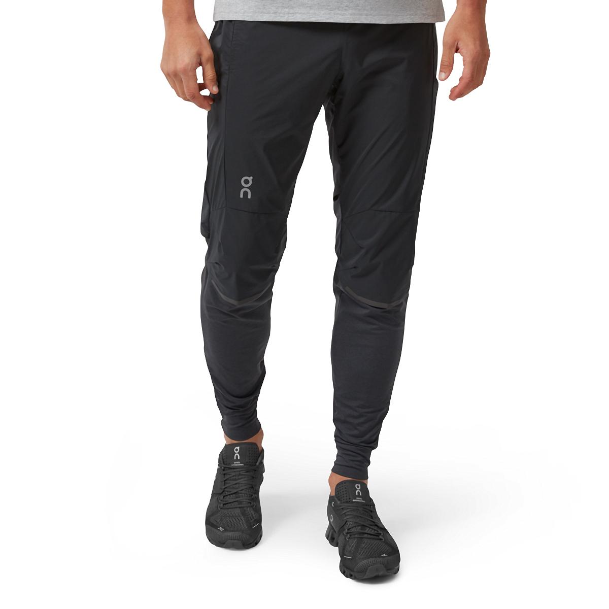 Men's On Running Pants - Color: Black - Size: S, Black, large, image 1