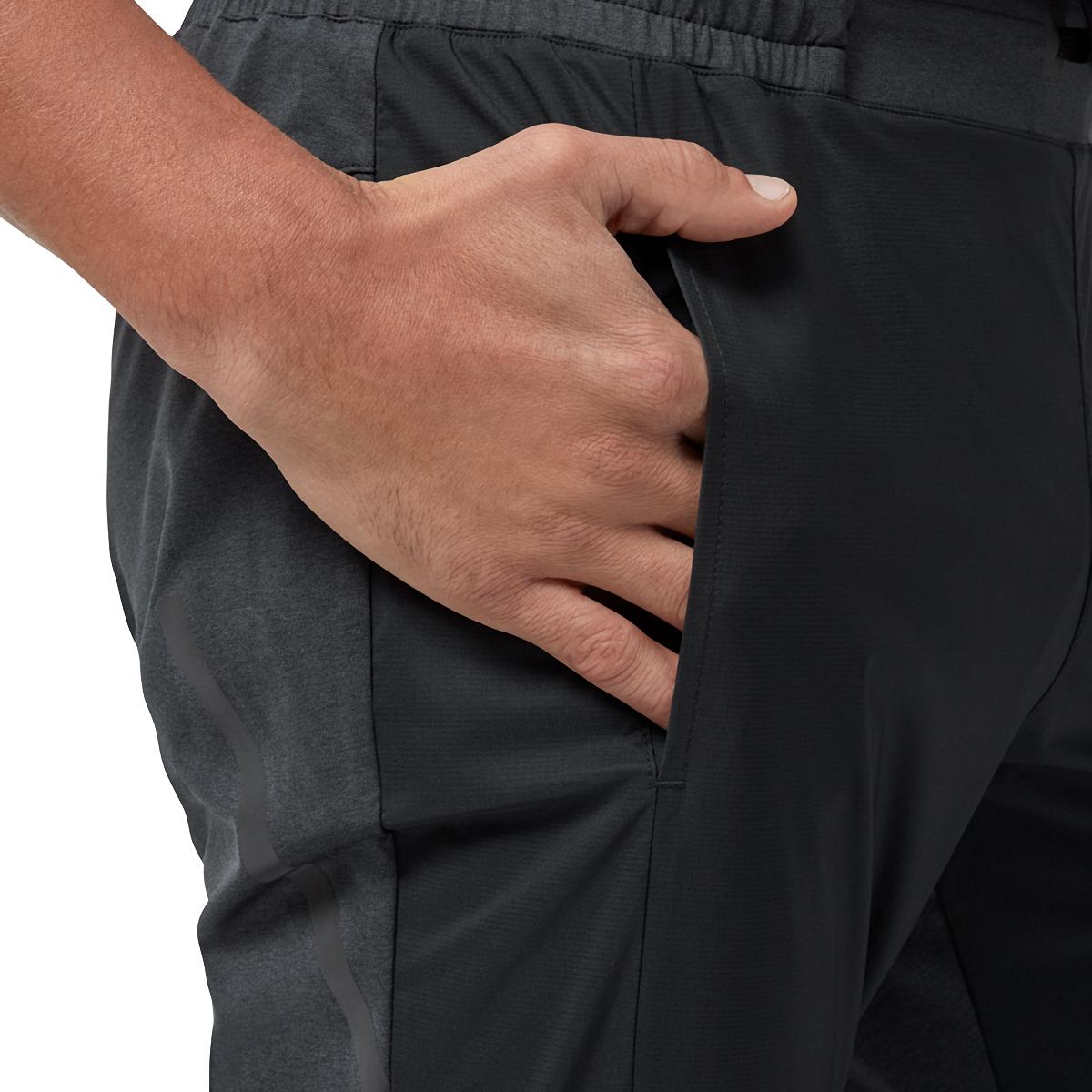 Men's On Running Pants - Color: Black - Size: S, Black, large, image 3
