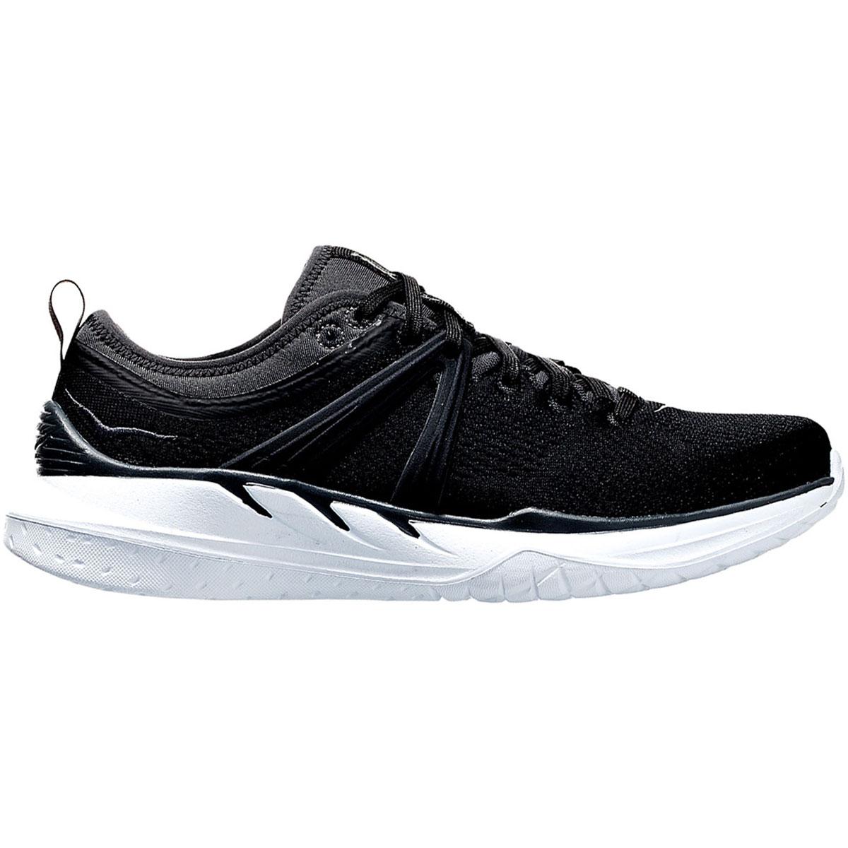 Women's Hoka One One Tivra Running Shoe - Color: Black/Dark Shadow - Size: 5 - Width: Regular, Black/Dark Shadow, large, image 3