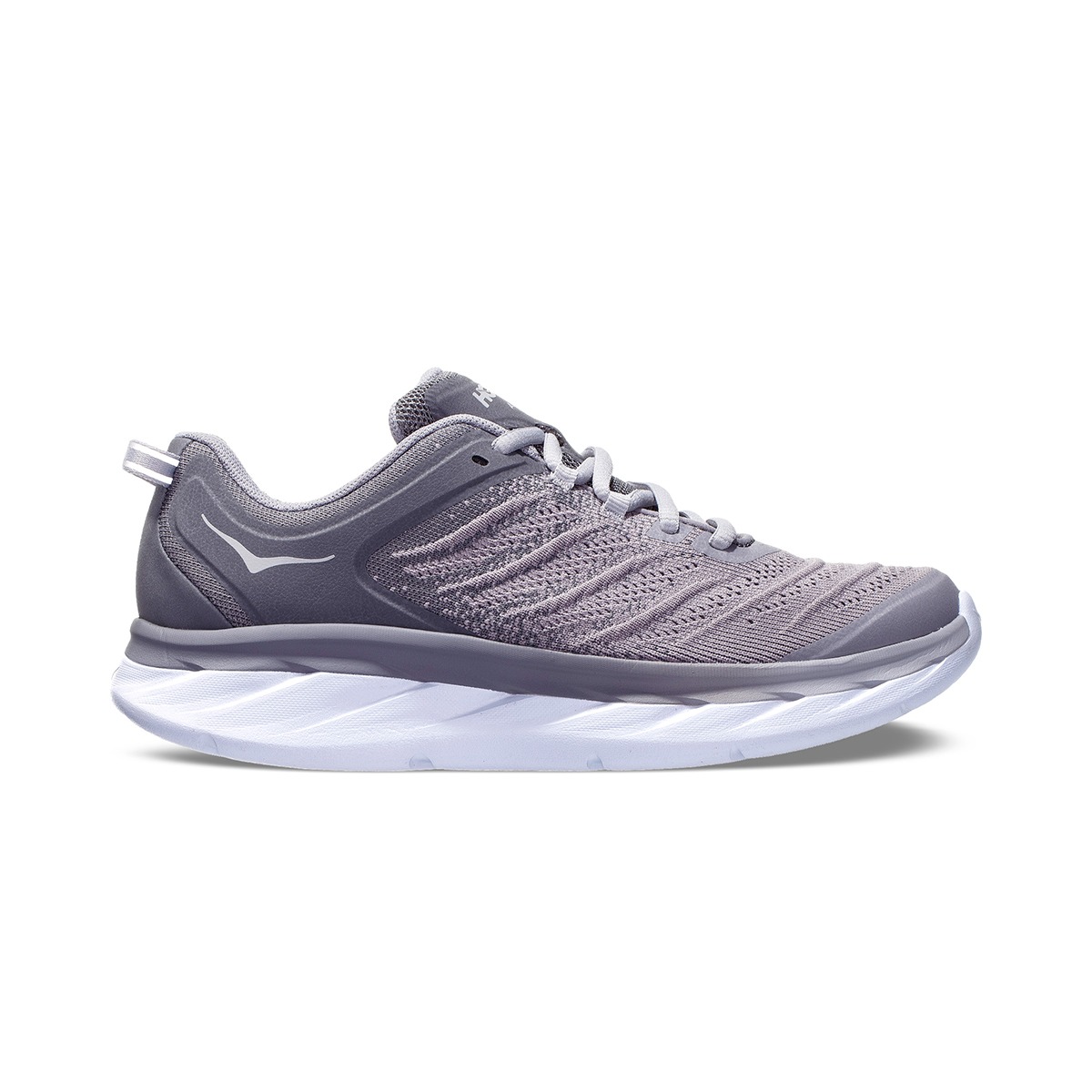 Women's Hoka One One Akasa Running Shoe - Color: Frost Gray/Sconce - Size: 5 - Width: Regular, Frost Gray/Sconce, large, image 1