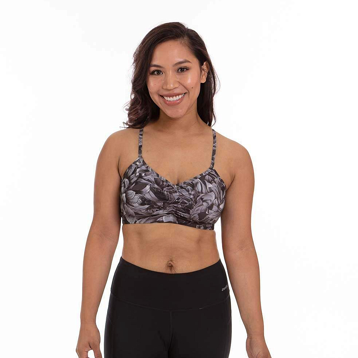 Women's Handful Adjustable Bra  - Color: Petal To The Metal - Size: XS, Petal To The Metal, large, image 1