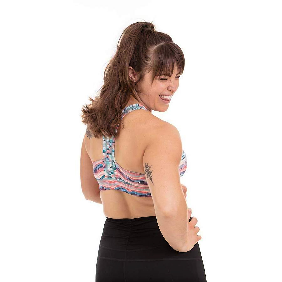 Women's Handful Y-Back Bra - Color: Ripple Effect - Size: S, Ripple Effect, large, image 3
