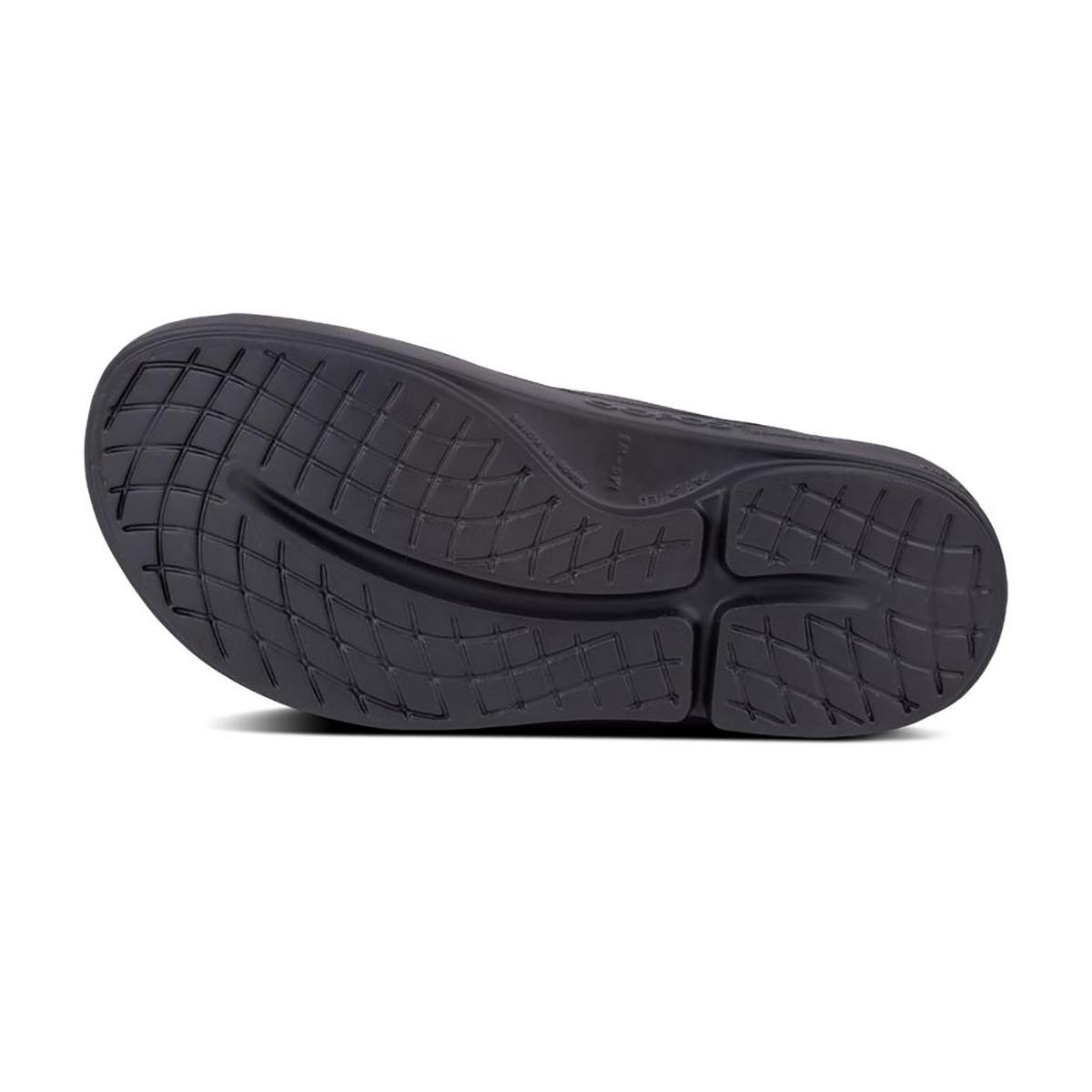 Oofos OOahh Recovery Slide - Color: Black - Size: M7/W9 - Width: Regular, Black, large, image 5