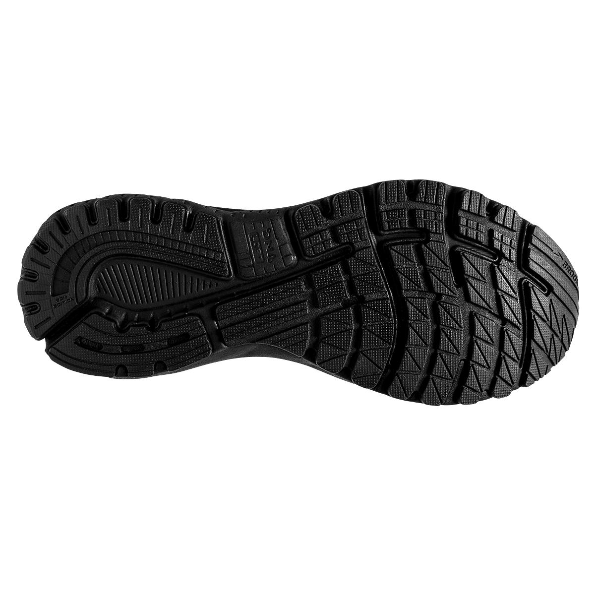 Men's Brooks Adrenaline GTS 20 Running Shoe - Color: Black/Grey (Regular Width) - Size: 15, Black/Grey, large, image 3