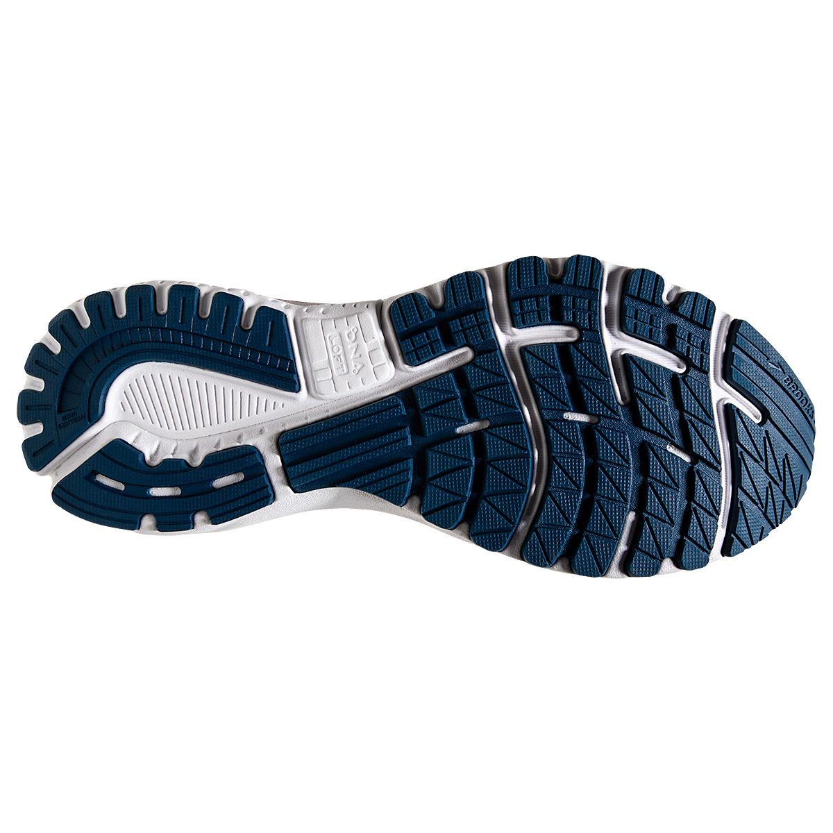 Men's Brooks Adrenaline GTS 20 Running Shoe - Color: Gibraltar/Red/White - Size: 7 - Width: Regular, Gibraltar/Red/White, large, image 3