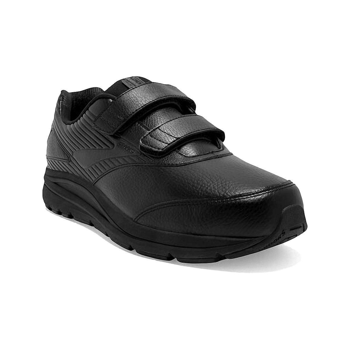 Men's Brooks Addiction Walker V-Strap 2 Walking Shoe - Color: Black/Black - Size: 7 - Width: Regular, Black, large, image 4