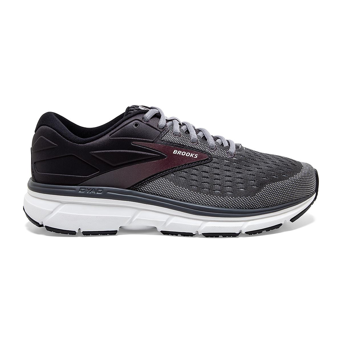Men's Brooks Dyad 11 Running Shoe - Color: Blackened Pearl  - Size: 7 - Width: Regular, Blackened Pearl, large, image 1