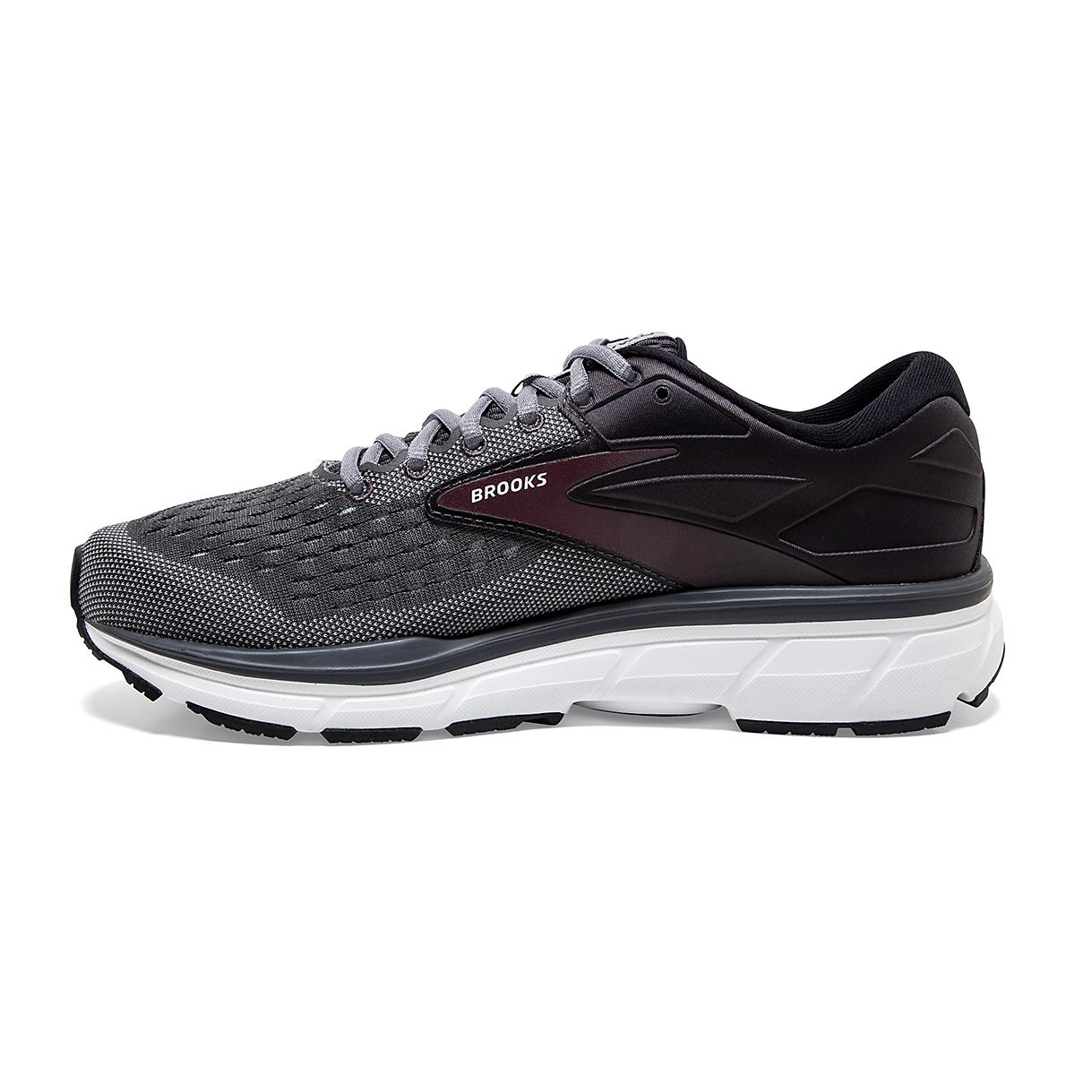 Men's Brooks Dyad 11 Running Shoe - Color: Blackened Pearl  - Size: 7 - Width: Regular, Blackened Pearl, large, image 2