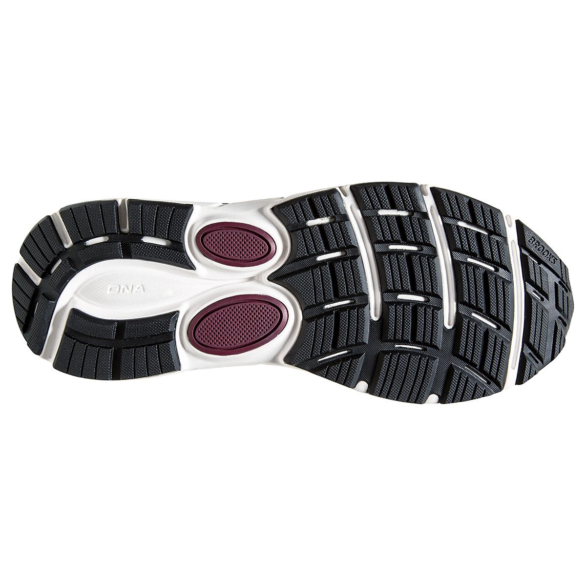 Men's Brooks Dyad 11 Running Shoe - Color: Blackened Pearl  - Size: 7 - Width: Regular, Blackened Pearl, large, image 4