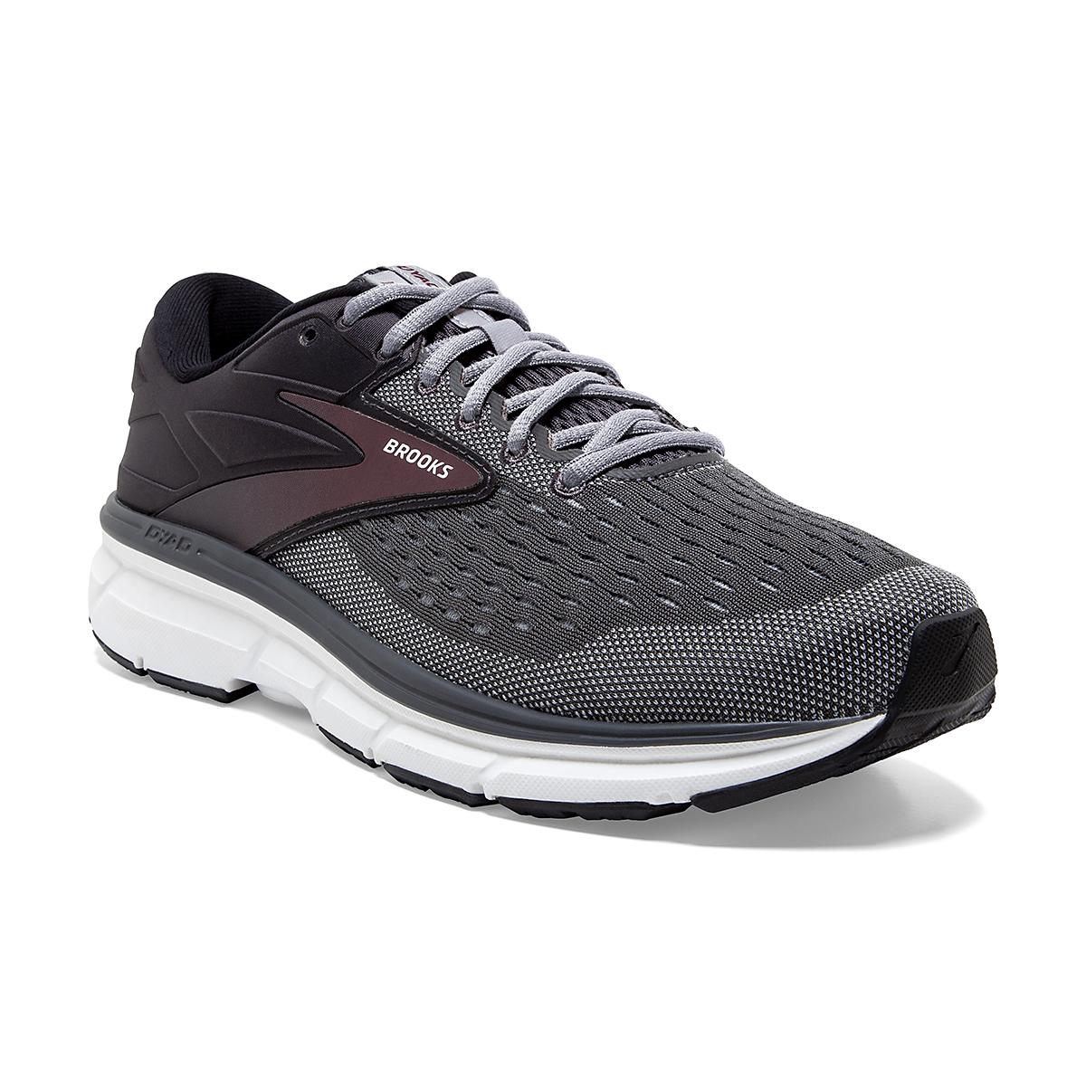 Men's Brooks Dyad 11 Running Shoe - Color: Blackened Pearl  - Size: 7 - Width: Regular, Blackened Pearl, large, image 5