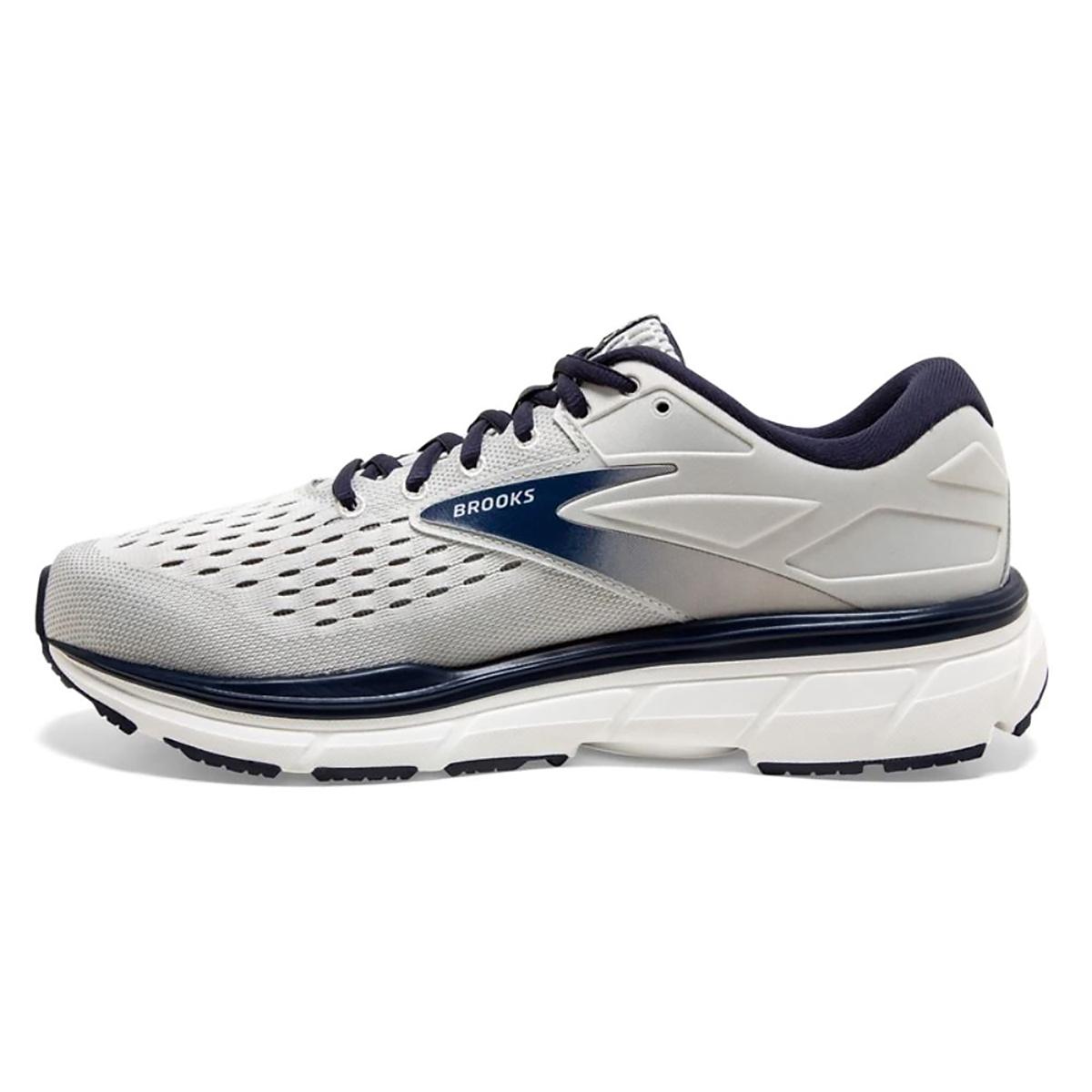 Men's Brooks Dyad 11 Running Shoe - Color: Antarctica/Grey/Peacoat (Regular Width) - Size: 7, Antarctica/Grey/Peacoat, large, image 2