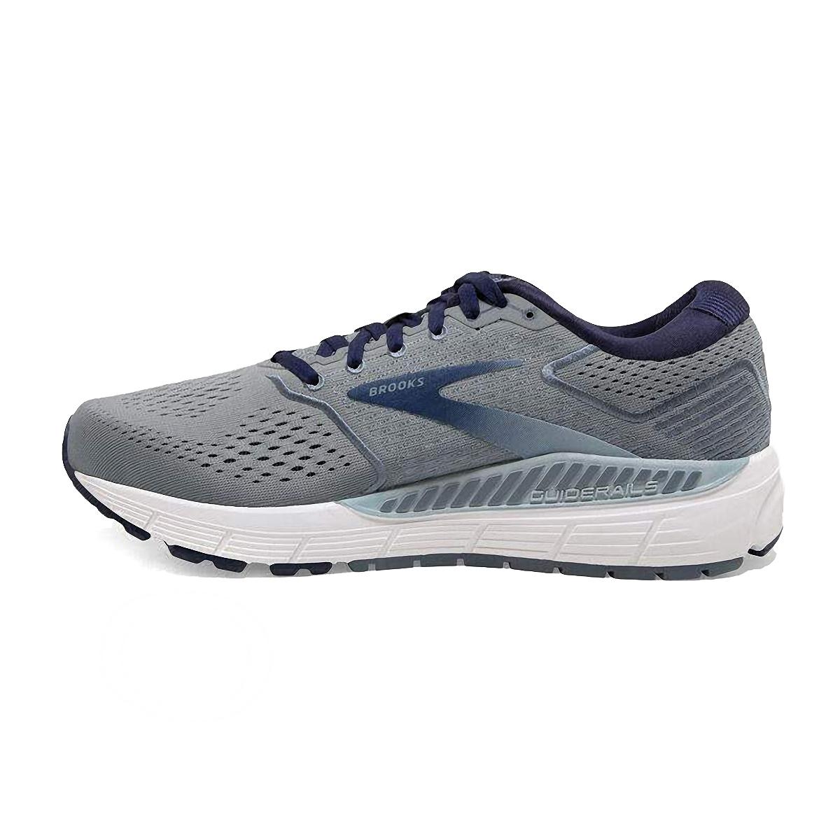 Men's Brooks Beast 20 Running Shoe - Color: Blue/Grey/Peacoat (Regular Width) - Size: 8, Blue/Grey/Peacoat, large, image 2