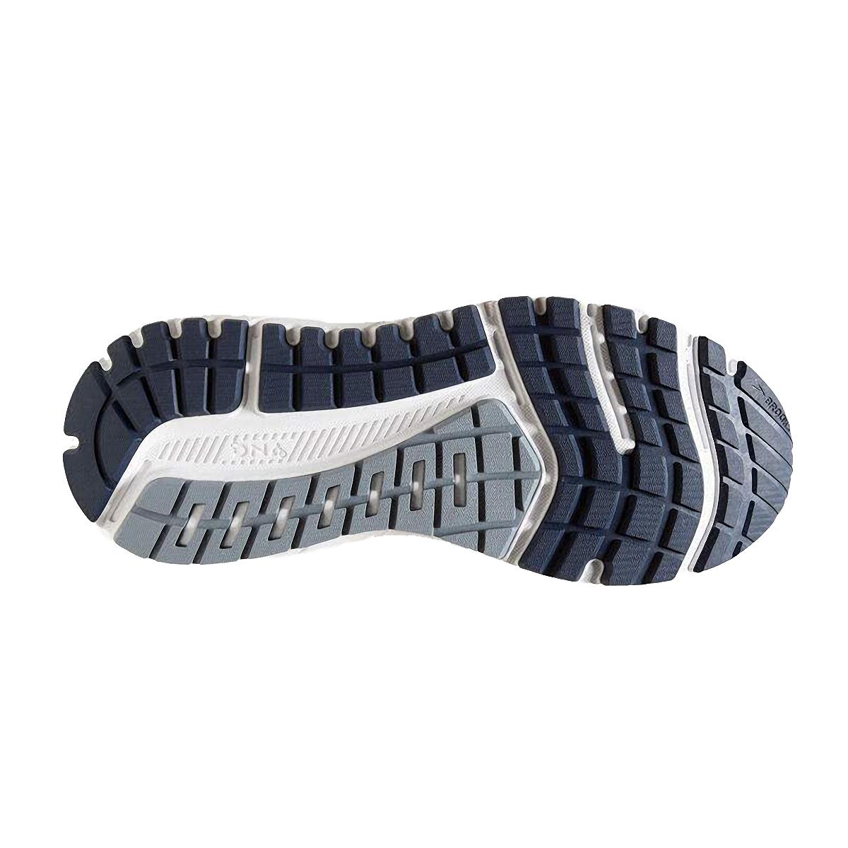 Men's Brooks Beast 20 Running Shoe - Color: Blue/Grey/Peacoat (Regular Width) - Size: 8, Blue/Grey/Peacoat, large, image 3