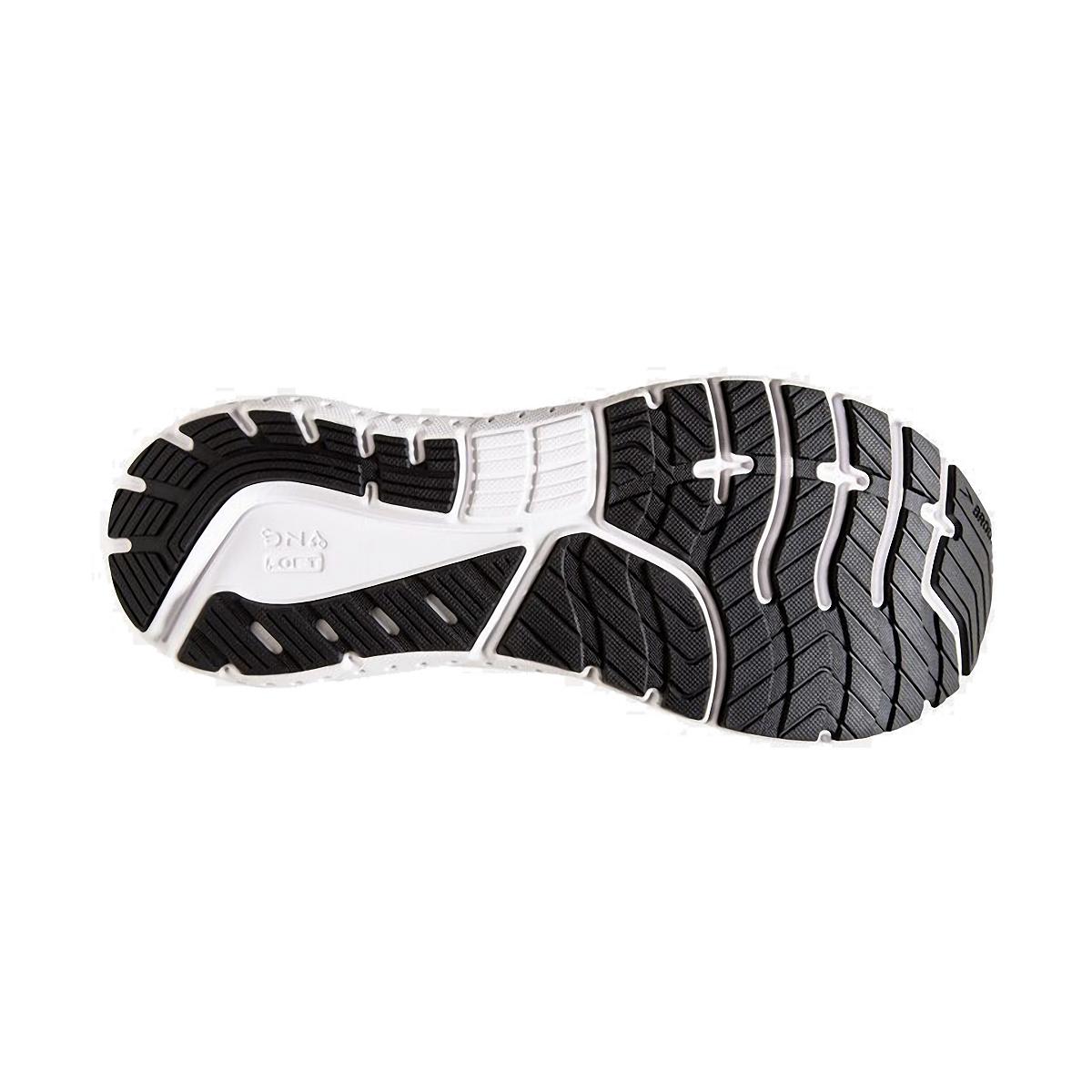 Men's Brooks Glycerin 18 Running Shoe - Color: White/Black/Red - Size: 7 - Width: Regular, White/Black/Red, large, image 3