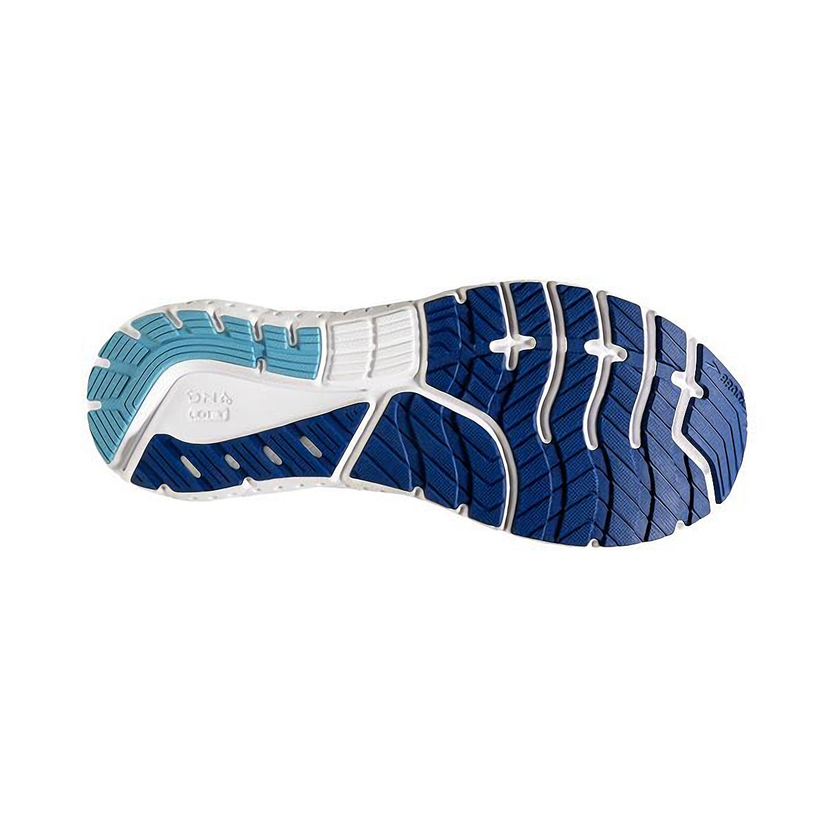 Men's Brooks Glycerin 18 Running Shoe - Color: Blue/Marazine/Gold - Size: 7 - Width: Regular, Blue/Marazine/Gold, large, image 3
